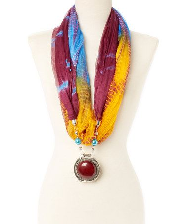 91 best pendant scarf images on pinterest fashion jewellery drop a la tzarina purple yellow silk scarf pendant necklace aloadofball Gallery