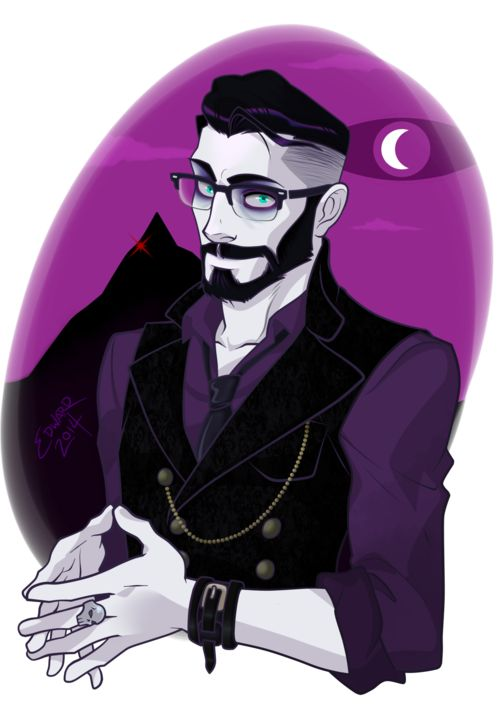 Well daaaaaang. I like this Cecil. He's like a hot Night Vale vampire. I like it.