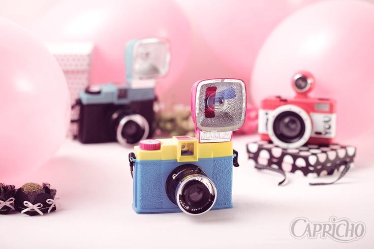 Câmeras fotográficas analógicas muito fofas!