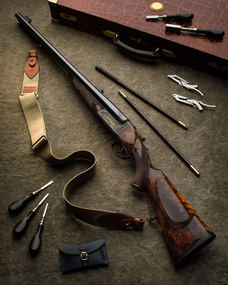 WR .577 Droplock double rifle5
