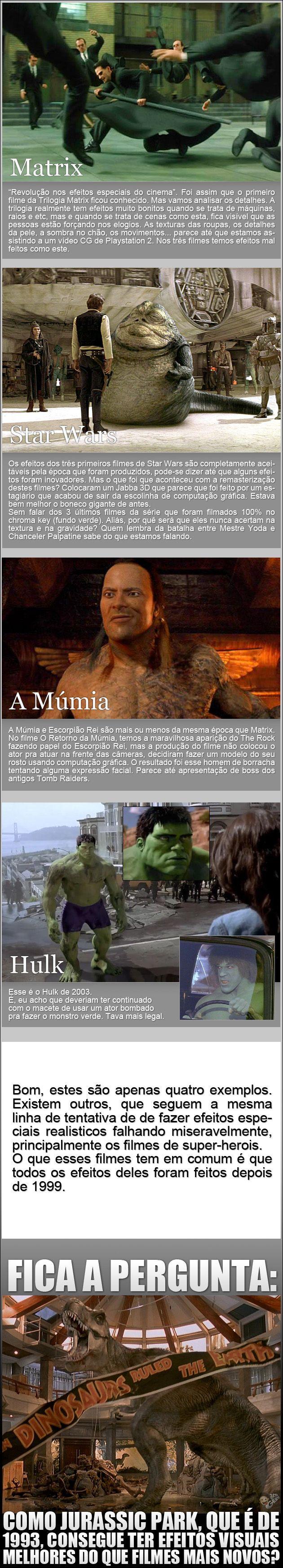 Filmes e seus efeitos especiais