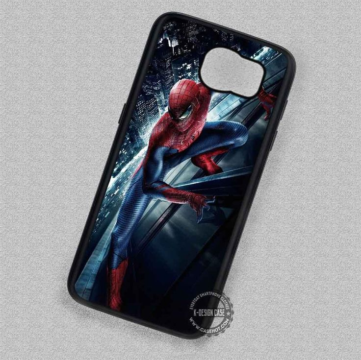 Movie Action The Amazing Spiderman - Samsung Galaxy S7 S6 S5 Note 7 Cases & Covers