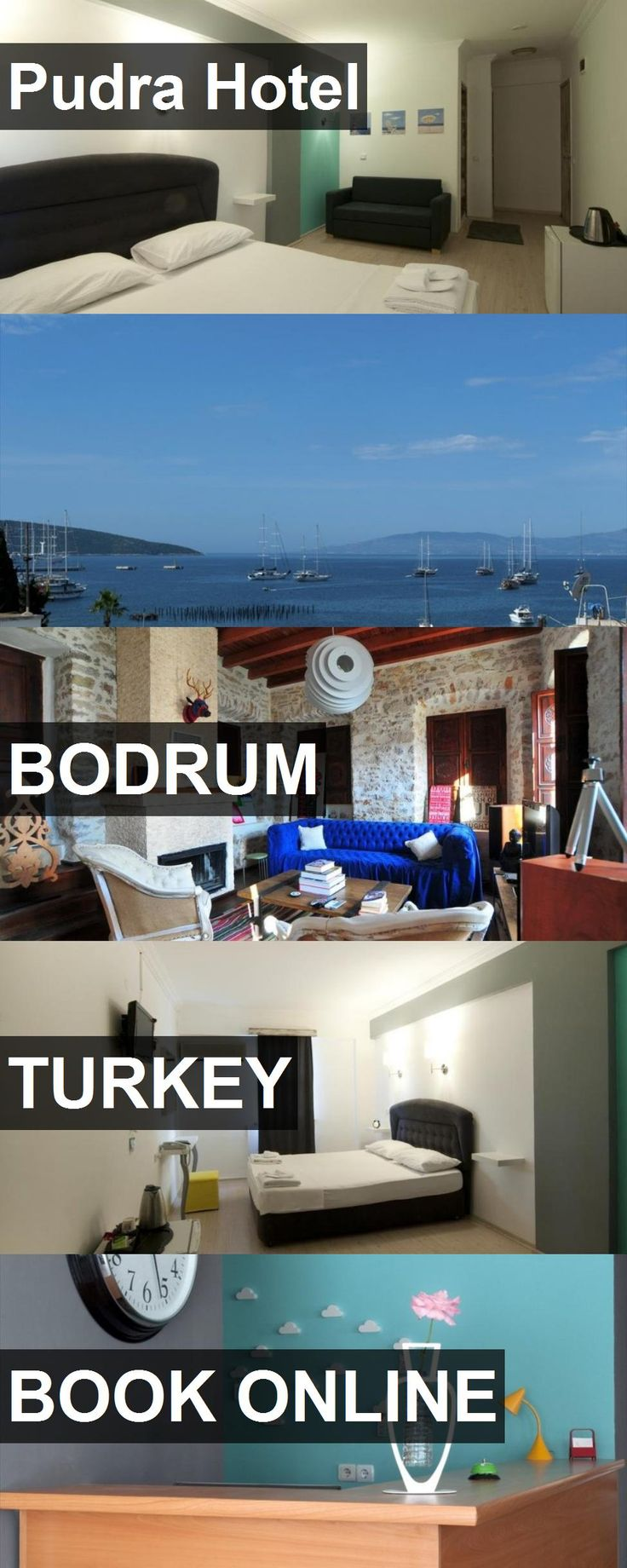 Pudra Hotel in Bodrum, Turkey. For more information, photos, reviews and best prices please follow the link. #Turkey #Bodrum #travel #vacation #hotel