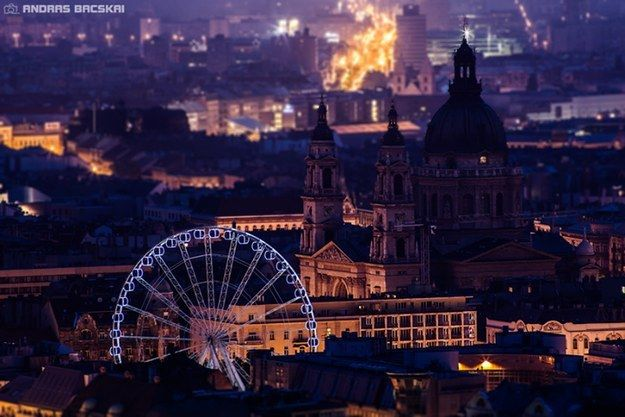 Ferris Wheel, Erzsébet Square | Community Post: 12 Things You Should Try In Budapest Which Might Not Be In Your Guidebook