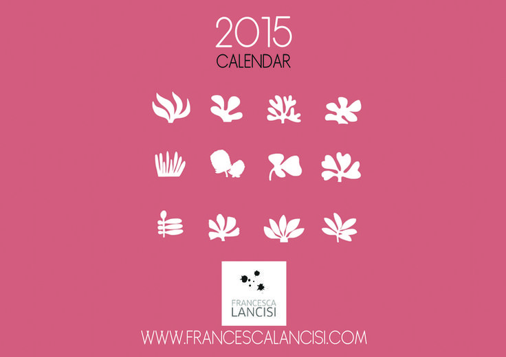 free prinatble calendar for 2015 — Francesca Lancisi