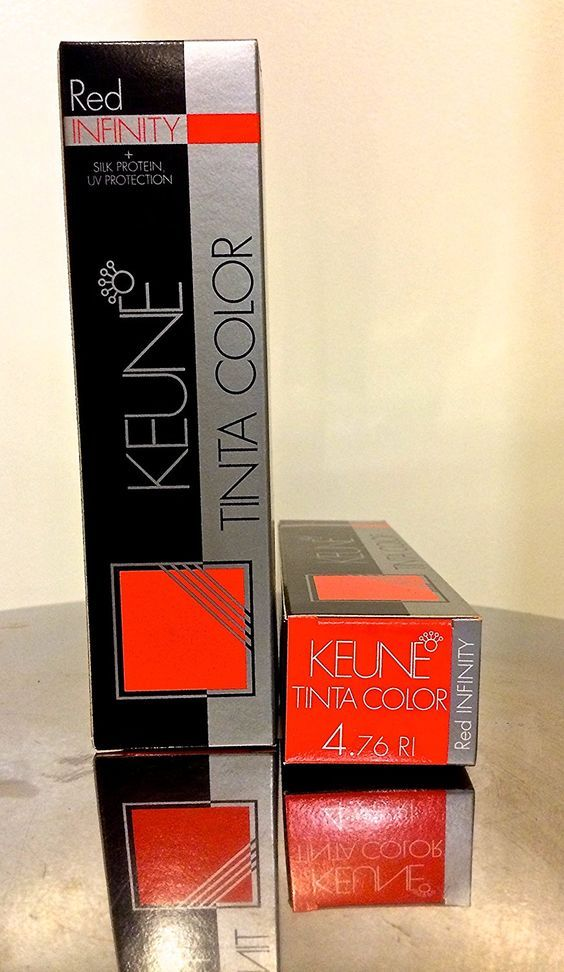 KEUNE TINTA COLOR RED INFINITY 2.1 OZ , MEDIUM INFINITY VIOLET RED BROWN 4.76RI ** You can find out more details at the link of the image.