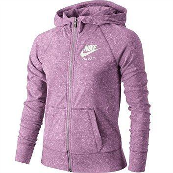 Rebel Sport - Nike Girls Sportswear Vintage Full Zip Hoody