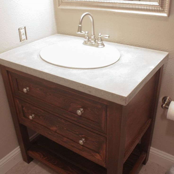 Best Tahoe Remodel Upstairs Bathroom Sink Vanity Images On - Bathroom vanity no sink