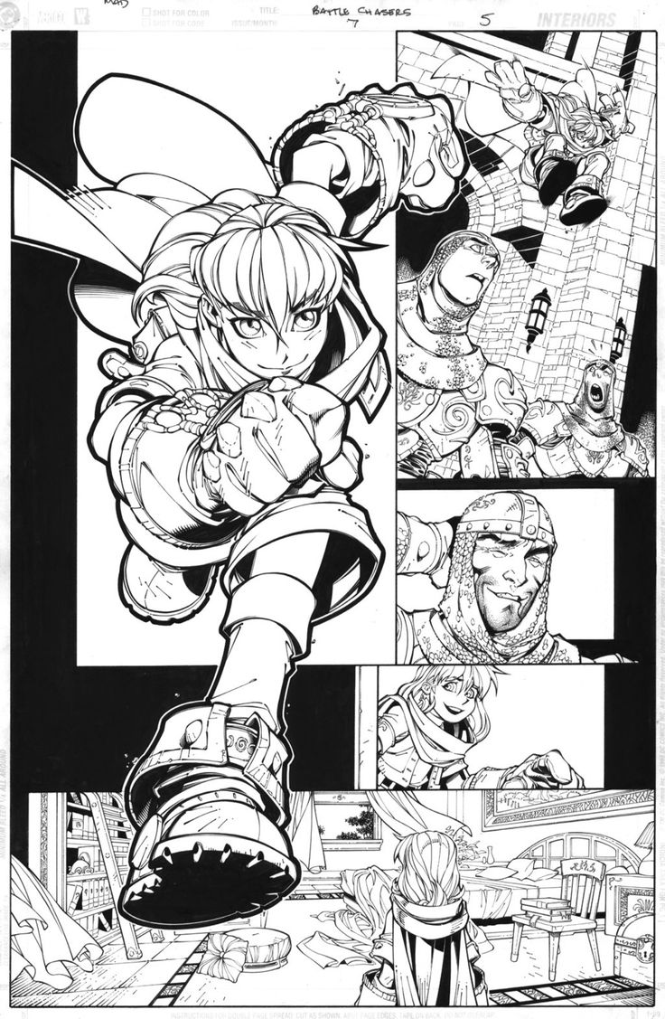 Battle Chasers page 5 by TimTownsend on deviantART