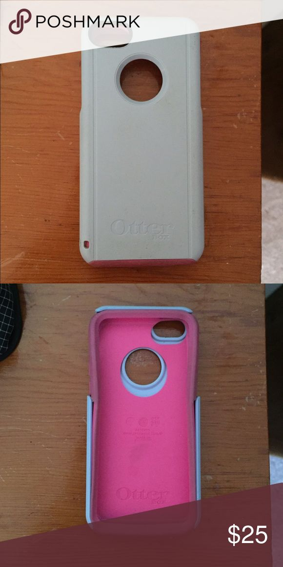 iPhone 5c otterbox iPhone 5c otter box. Used but in perfect condition! Will wash before shipped! Accessories Phone Cases