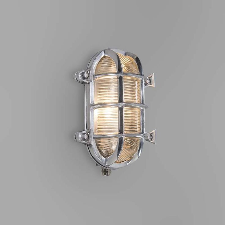 Ceiling light and wall light 'Nautica O' Classic chrome/nickel - Suitable for…