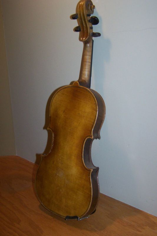 "Vintage Copy of Antonius Stradivarius Violin 22"" Remake for Decoration/Parts - http://musical-instruments.goshoppins.com/string-instruments/vintage-copy-of-antonius-stradivarius-violin-22-remake-for-decorationparts/"