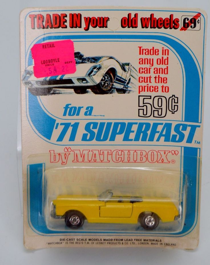 Vintage Matchbox Lesney Yellow Mercedes 230 Sl Series 27 Superfast Diecast Car #Matchbox #MercedesBenz
