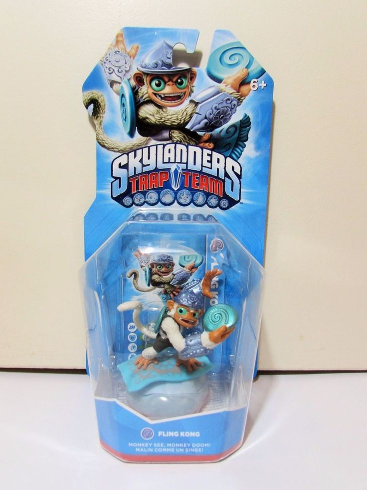 Skylanders Trap Team Fling Kong Figure BNIB