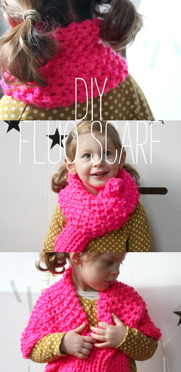 #DIY #tricot #fluo