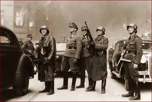 After the Germans were forced to withdraw from the ghetto, they returned with more and more firepower. After several days without quelling the uprising, the German commander, General Jürgen Stroop, ordered the ghetto burned to the ground building by building. Still, the Jews held out against the overwhelming force for 27 days.    http://www.jewishvirtuallibrary.org/jsource/Holocaust/uprising1.html