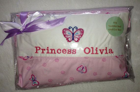 Personalised Embroidery Princess Butterfly by BabysPreciousGifts, $40.00