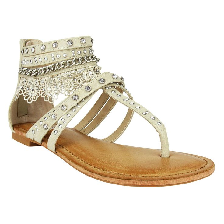 Not Rated Willow Sandal in Cream