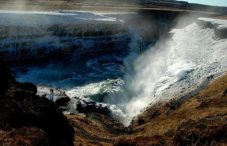 Iceland - Gulfoss Waterfall