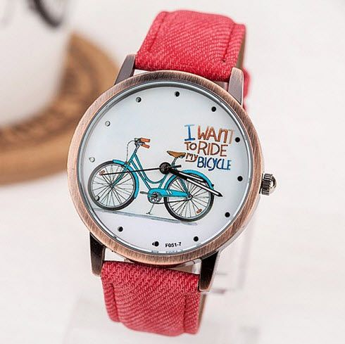 Huge savings on this Summer Afternoon Ladies Casual Watch  €7.99  DIRECT FROM SUPPLIER (FREE SHIPPING)  #WatchesDirectEU #womensfashion #womenswatches #watches