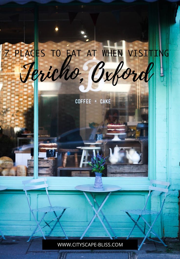 7 places to eat at when visiting Jericho, Oxford cityscape bliss // travel journal