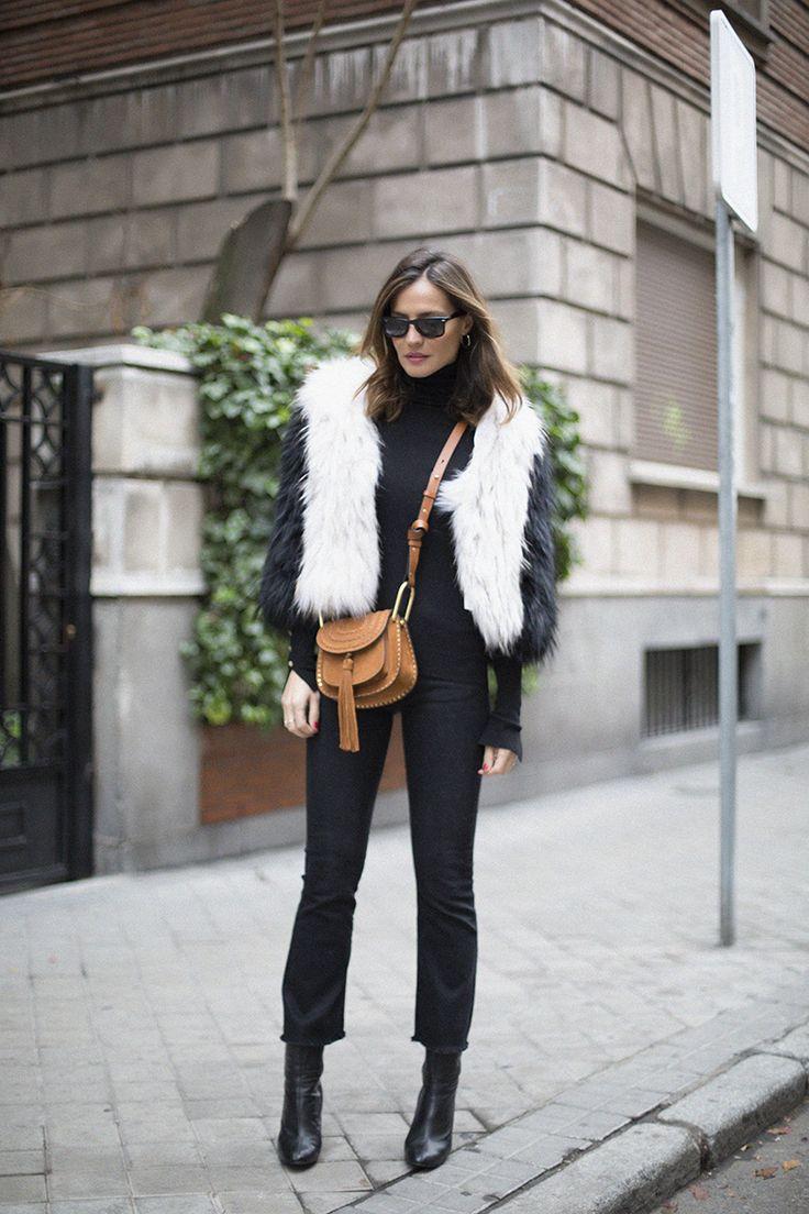b&w fur coat