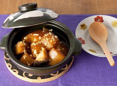 栗原はるみさんのとっておきレシピ | 大根と銀ダラの照り煮