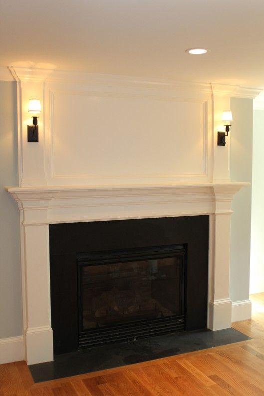 Best 25+ Black fireplace mantels ideas on Pinterest ...
