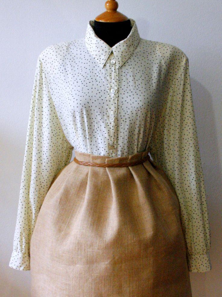 Blusa vintage.