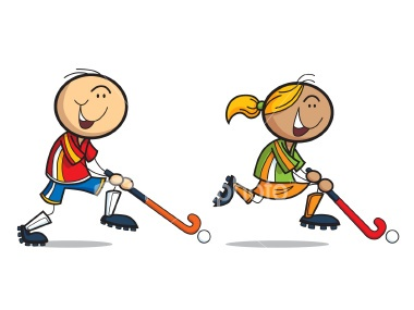 Field hockey cartoon