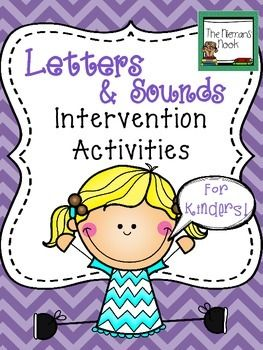 This product offers an introduction to letter-sound instruction for Kindergarteners who lack exposure or have difficulty learning letters and sounds.  It also provides review materials for independent practice.