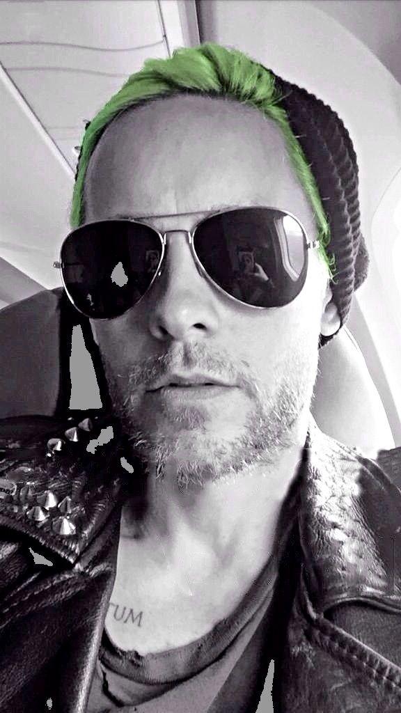 green hair, pink hair, long hair, beard, no beard, Mohawk, I don't care. He is beautiful.