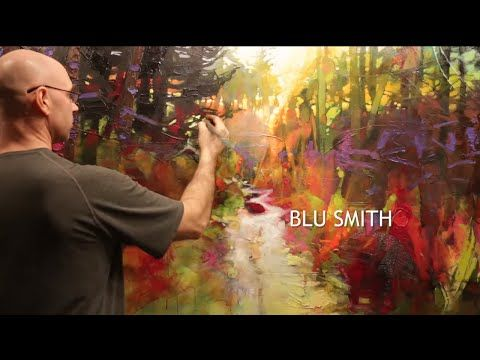 The Avenue Gallery   Artist Profile   Blu Smith   YouTube