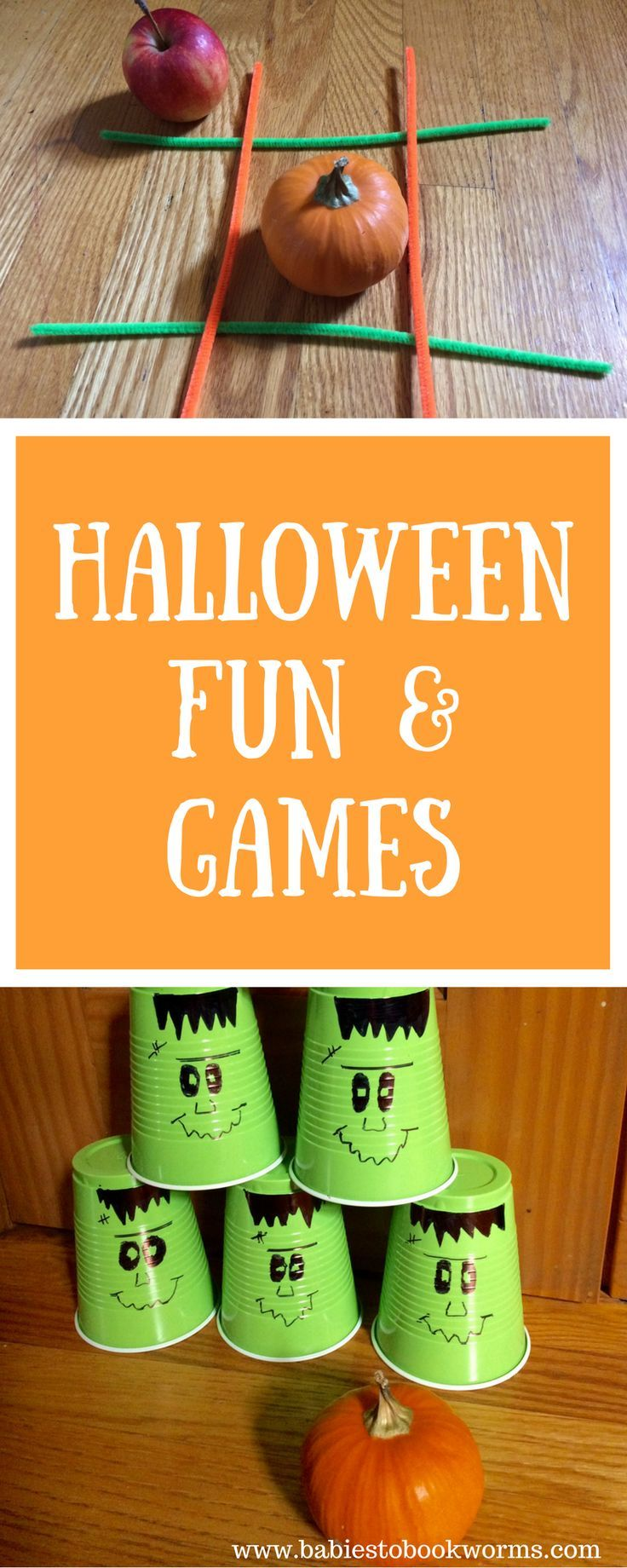 Get kids excited for Halloween with these family friendly games & learning activities!     #HalloweenGames #HalloweenLearning #HalloweenActivities #ToddlerHalloween