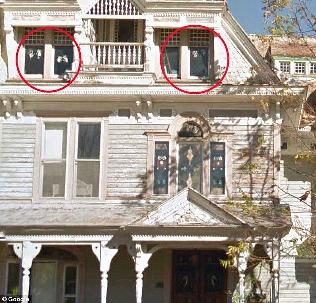 Google captures ghostly images in windows of New York 'haunted ...