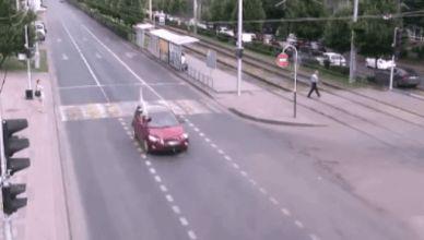 pedestrian vs verichle