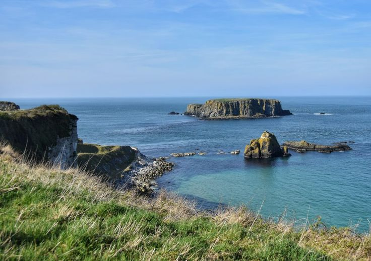 Isole, mare e verde d'Irlanda. Carrick-a-Rede