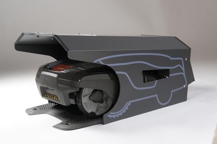 18 best automower garage tondeuse robot garage rasenm her roboter garage robot lawn mower. Black Bedroom Furniture Sets. Home Design Ideas