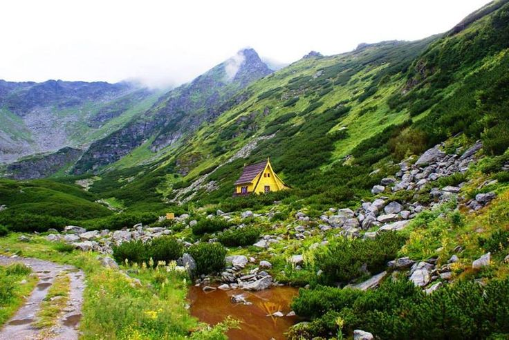 Parcul National Muntii Rodnei - Cabana de cercetare Iezer (Pietrosu Mare)  Rodna National Park - Romania   Photo: Claudiu Iusan(960×643)