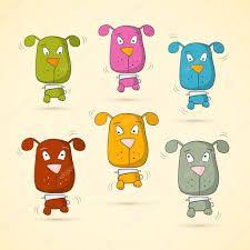 Картинки по запросу векторные изображения собак
