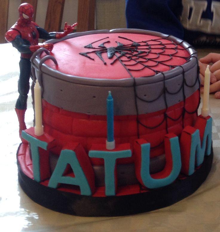 Spiderman Cake for my nephew.