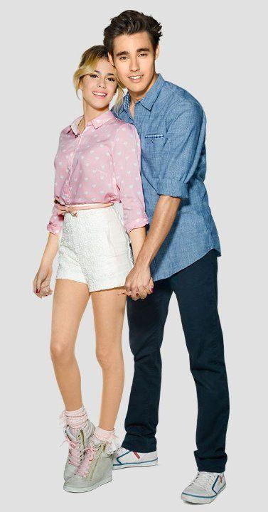 Jorge Blanco and Martina Stoessel in Violetta (2012)