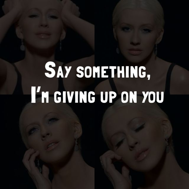 a great big world featuring christina aguilera say something