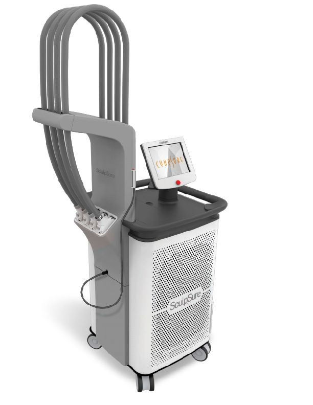 Cynosure Inc's SculpSure™entered the non-invasive body contouring scene in late 2015, and started making inroads almost immediately. FDA-cleared for noninvasive lipolysis of the flanks and abdomen, the new fat-melting laser has four applicators, which means doctors can treat four areas at once.