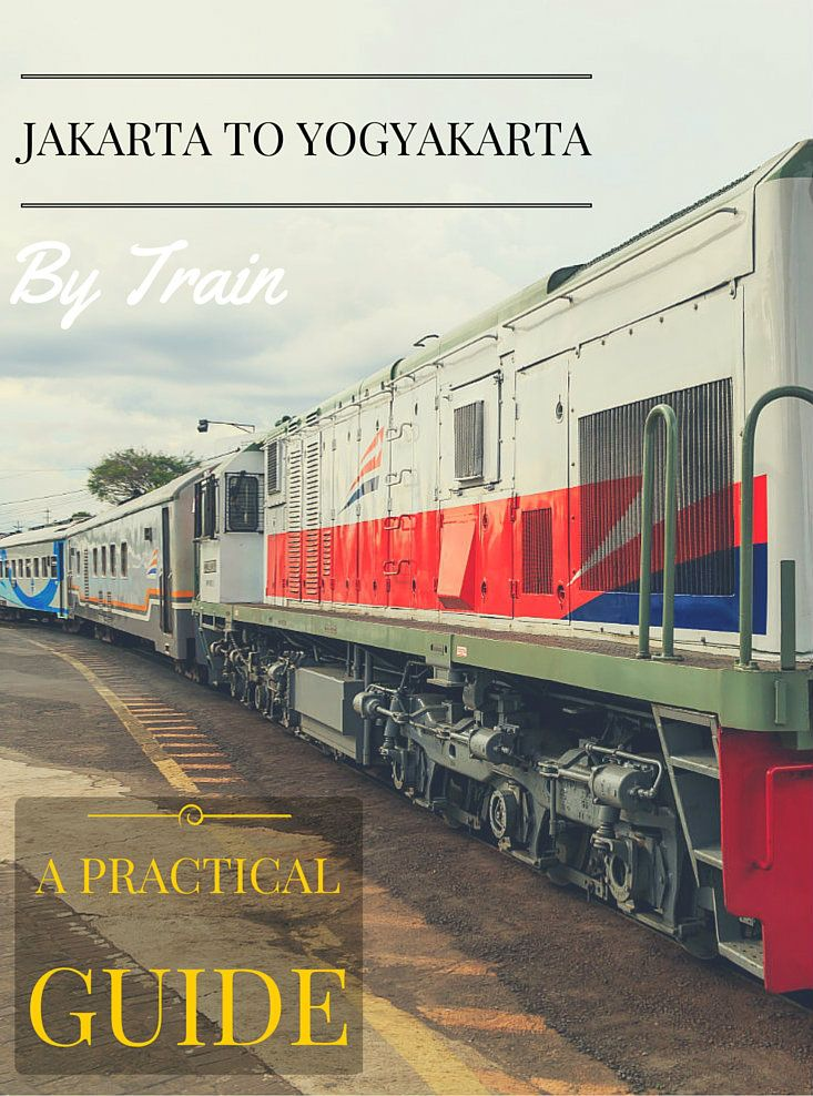 There are a lot of different ways that you can get from Jakarta to Yogyakarta. Travelling by train has to be one of my favourites, but it can be confusing if this is your first time. This guide makes things simple. It covers everything you need to know for arranging your train journey.