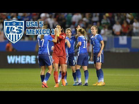 VIDEO: Highlights, USA vs. Mexico, May 17, 2015. (U.S. Soccer)