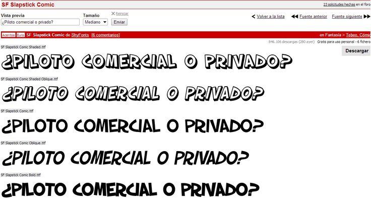Posible tipografía de subtítulos 2