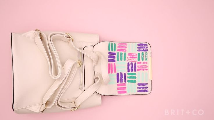 How to DIY a Painted Backpack… Diy Crafts