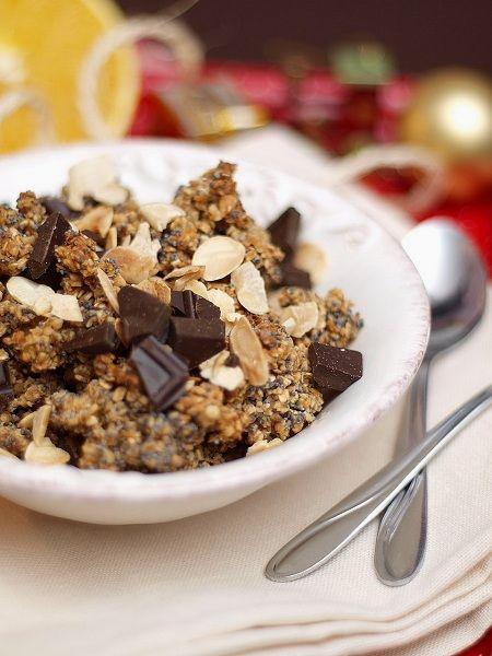Słodkie inspiracje: Granola świąteczna