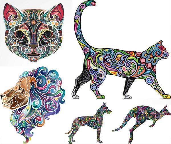 tatuaggi animali colore